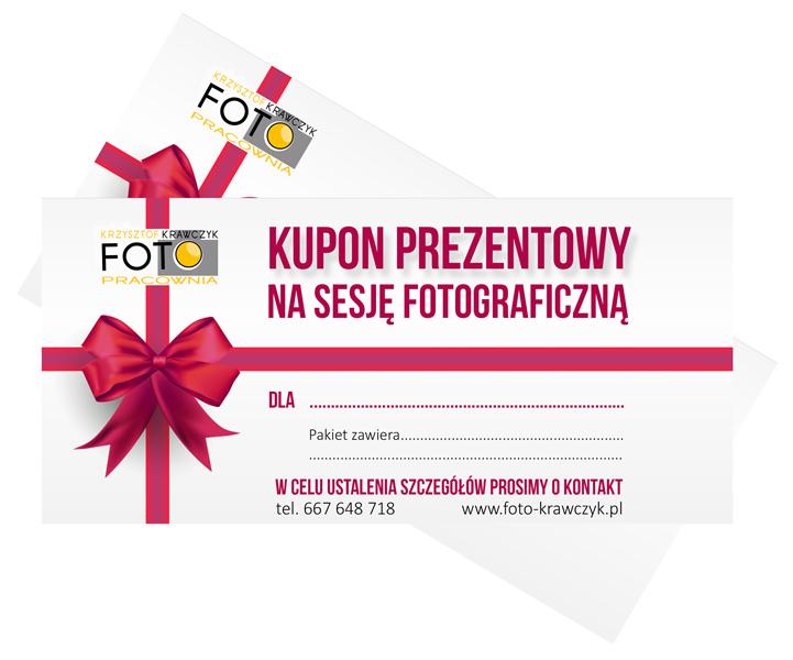 Kupon-prezentowy-Fotopracownia Krzysztof Krawczyk